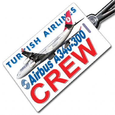 THY Turkish A340 Tag